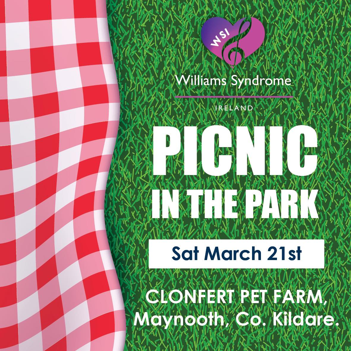 Notice for Picnic in the Park 2020